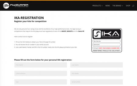 IKA-Registration
